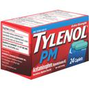 Tylenol PM Extra Strength Acetaminophen Pain Reliever, Nighttime Sleep Aid Caplets