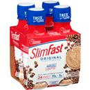 SlimFast RTD Cappuccino Delight Meal Replacement Shakes 4Pk