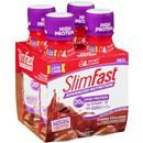 SlimFast Advanced Nutrition RTD Creamy Chocolate Meal Replacement Shakes 4Pk