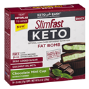 Slimfast Keto Fat Bomb Chocolate Mint Cup 14-0.6 oz Cups