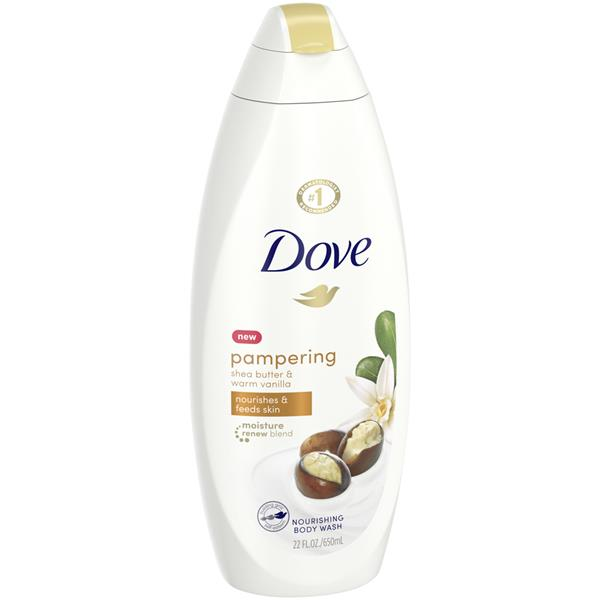 Dove Purely Pampering Nourishing Body Wash Shea Butter With Warm Vanilla Scent Hy Vee Aisles Online Grocery Shopping
