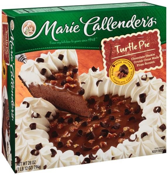 Marie Callender's Turtle Pie | Hy-Vee Aisles Online Grocery Shopping
