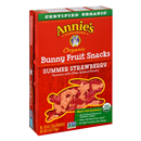Annie's Homegrown Organic Summer Strawberry Bunny Fruit Snacks 5-0.8 oz Pouches