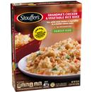 Stouffer's Family Size Grandma's Chicken & Vegetable Rice Bake