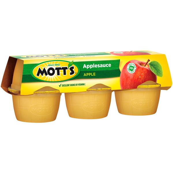 Mott's Original Applesauce 6-4 oz Containers