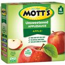 Mott&#39s No Sugar Added Applesauce 4pk