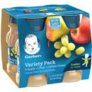 Gerber Nature Select 100% Juice Variety 4 Pack