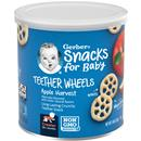 Gerber Crawler Teether Wheels Apple Harvest Puffed Grain Snack