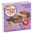 Protein One Salted Caramel Crips Protein Bars 5-0.99 oz Bars