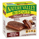 Nature Valley Biscuits Chocolate Peanut Butter 5-1.35 oz Pouches