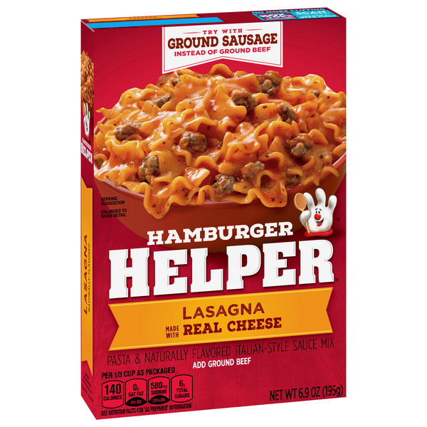 Betty Crocker Hamburger Helper Lasagna