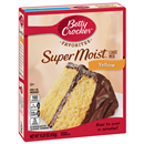 Betty Crocker Super Moist Yellow Cake Mix