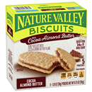 Nature Valley Biscuits with Cocoa Almond Butter 5-1.35 oz Pouches