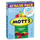 Mott's Medleys Fruit Flavored Snacks Assorted Fruit - 22-0.8 oz Pouches