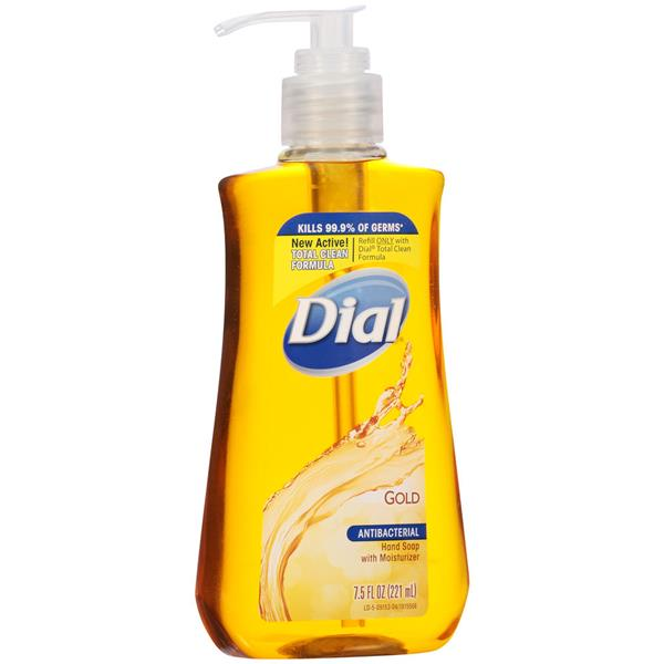 Dial Gold Antibacterial Hand Soap With Moisturizer Hy