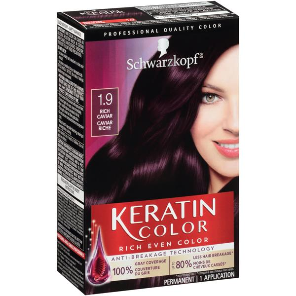 Schwarzkopf Keratin Color Intense Caring Color 1 9 Rich Caviar Hair Color Kit With K Bond Plex Hy Vee Aisles Online Grocery Shopping