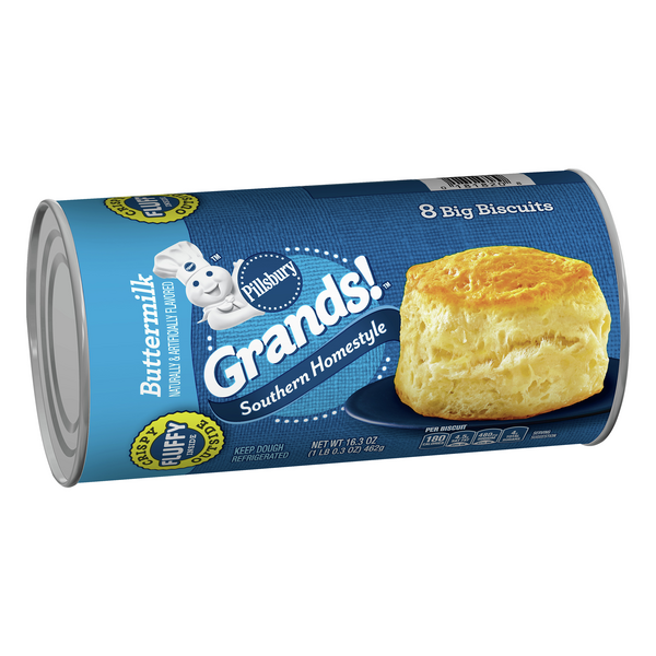 Pillsbury Grands! Homestyle Buttermilk Biscuits 8Ct