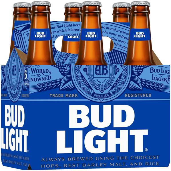 Bud Light Beer 6 Pack Hy Vee Aisles Online Grocery Shopping