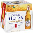 Michelob Ultra Pure Gold Superior Light Beer 12Pk