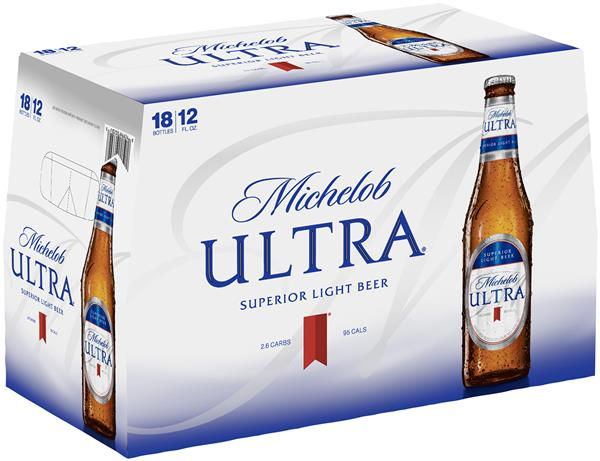 Michelob Ultra Beer 18 Pack | Hy-Vee Aisles Online Grocery