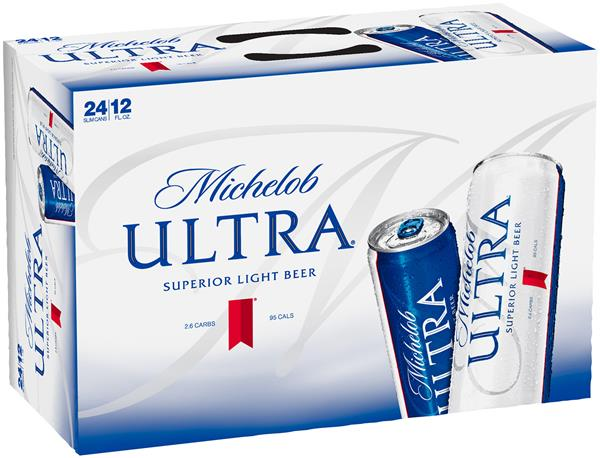 Michelob Ultra Beer 24 Pack Slim Cans | Hy-Vee Aisles Online