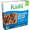 Kashi Chocolate Almond Sea Salt Chewy Granola Bars 6-1.2 oz Bars