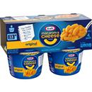 Kraft Original Flavor Macaroni & Cheese Dinner 4-2.05 oz Cups