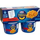 Kraft Triple Cheese Macaroni & Cheese Dinner 4-2.05 oz Cups