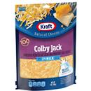 Kraft Shredded Colby & Monterey Jack Cheese Made with 2% Milk
