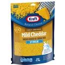 Kraft Finely Shredded Mild Cheddar Cheese Made with 2% Milk