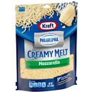 Kraft Shredded Mozzarella Cheese with a Touch of Philadelphia