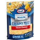 Kraft Shredded Three Cheese Blend with a Touch of Philadelphia