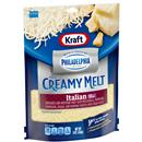 Kraft Shredded Italian Five Cheese Blend with a Touch of Philadelphia