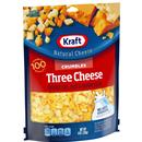 Kraft Three Cheese Crumbles