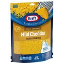 Kraft Finely Shredded Mild Cheddar Cheese