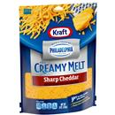 Kraft Shredded Sharp Cheddar with Cream Cheese