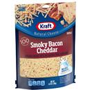 Kraft Smoky Bacon Cheddar Shredded Cheese