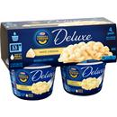 Kraft Deluxe White Cheddar Macaroni & Cheese Dinner Microcups 4Pk