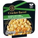 Cracker Barrel Single Bowl Macaroni & Cheese Dinner Sharp White Cheddar