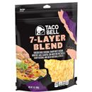 Taco Bell 7-Layer Blend Shredded Cheese