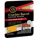 Cracker Barrel Pairing Boards Extra Sharp Yellow