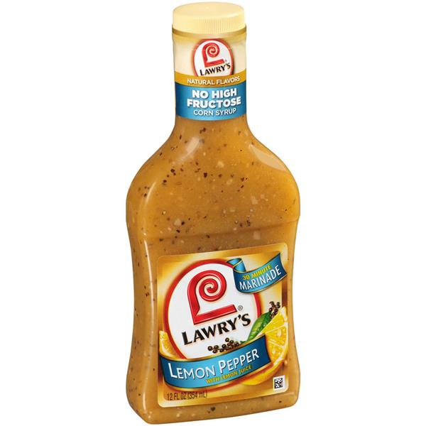Lawry's 30 Minute Marinade Lemon Pepper With Lemon Juice
