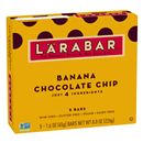 Larabar Fruit & Nut Bar Banana Chocolate Chip 5-1.6 oz Bars