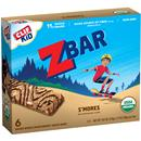 Clif Kid Organic ZBar S'mores Energy Snack 6Ct