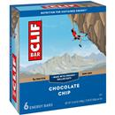 Clif Bar Energy Bars Chocolate Chip 6Pk