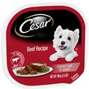 Cesar Canine Cuisine with Beef in Meaty Juices