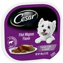 Cesar Canine Cuisine Filet Mignon Flavor In Meaty Juices