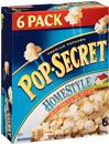 Pop-Secret Homestyle Microwave Popcorn 6-3.2 oz Bags