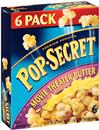 Pop-Secret Movie Theater Butter Microwave Popcorn 6-3.2 oz Bags