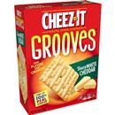 Cheez-It Grooves Sharp White Cheddar